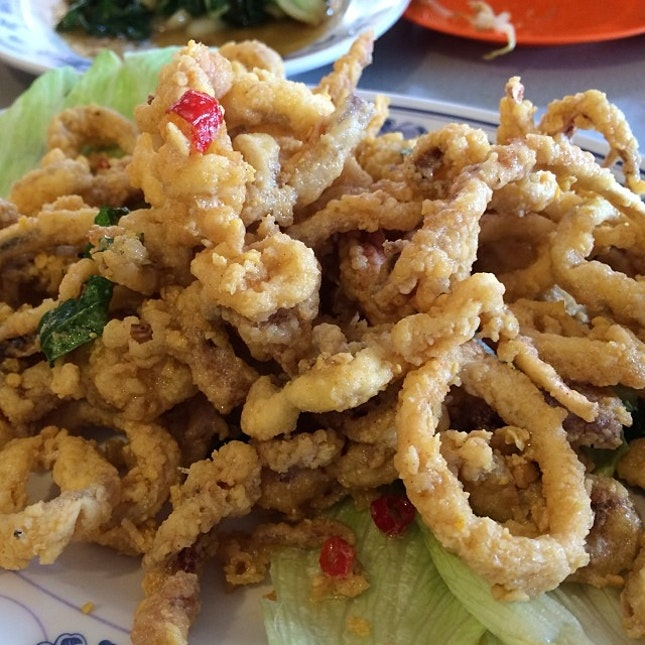 Salted Egg Sotong.