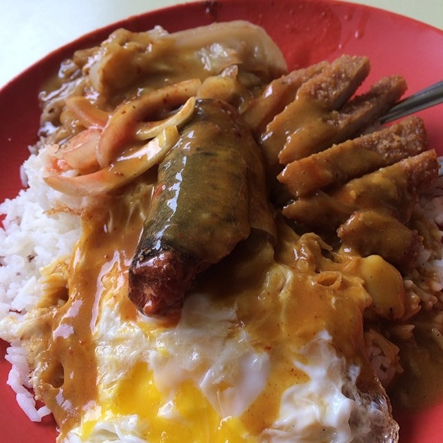Hainanese Curry Rice.