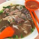 Beef Kway Teow Soup.