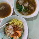 Traditional Hokkien Prawn Noodle from 见来成.