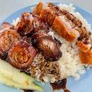 Charsiew Rice