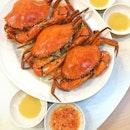 冻螃蟹❤️❤️❤️cold crabs with lots of solid roe!!!