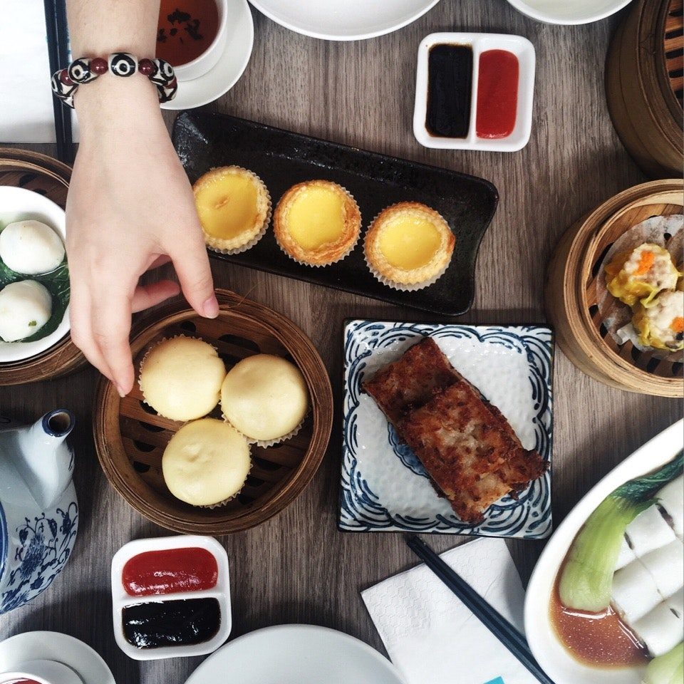 For Trendy Lunch Hour Dim Sum