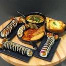[Invited Tasting] Nunsaram Korean Dessert Cafe @nunsaram_cafe  _ New menu with a wide range Gimbap (Rice Rolls) and Tteokbokki (Stir-fried Rice Cake).