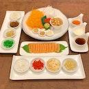 I N V I T E D  T A S T I N G Shin Minori @shinminorisg  _ Large Harvest Yu Sheng $49.99, serves 8-12 pax.