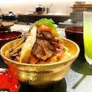 Kiwami Wagyu Sukiyaki Don  _ A4 Yonezawa Wagyu cooked upon order according to your liking.