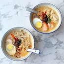New Local Delights Laksa menu from Wang Yuan Cafe @wangyuancafe  _ Located in Keong Siak Road, this cafe opened since October 2018, serves some pretty awesome local delights.