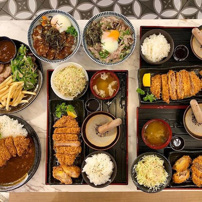 Gochi-So Shokudo @gochiso_shokudo opens a new outlet at The Seletar Mall  _ @gochiso_shokudo uses only Campovilla Iberico pork for all the dishes.