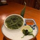 Celebrate Okinawa Summer Fair at @sunwithmoonsg  _ P1:  Okinawan specialties Umibudo $12.80.
