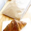 Classic Croissant  _ Using Wheat Flour, Butter, Milk, Sea Salt, Culture.