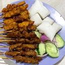 Pork & Mutton Satay.