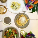 Vegetarian dinner _ @originalsinrestaurant has being in Merah Saga since day one when they first opened.