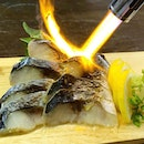 Japanese Seafood Tapas @darkhorse.sg  _ Shime Saba  Japanese Vinegared Mackerel.