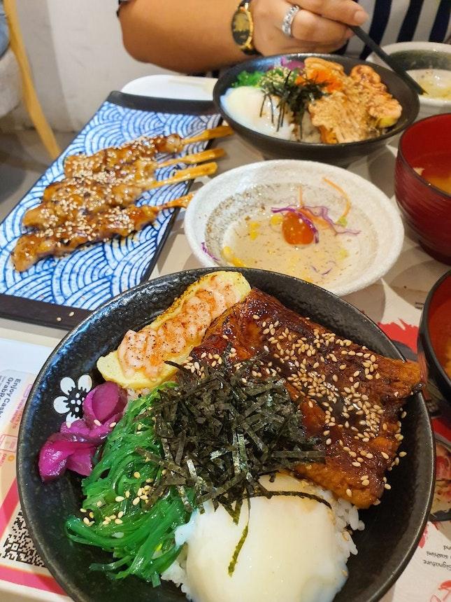 Japanese Don Set Meal