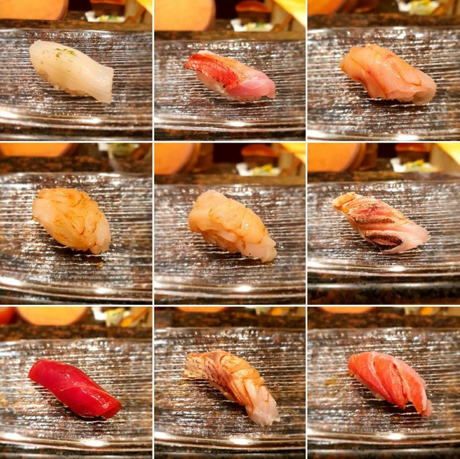 Omakase Dinner ($180/pax) PART 2