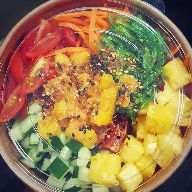 After using #Mealpal, my poke bowl consumption rate has drastically increased.