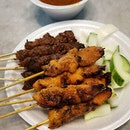 Funny how I don't recall ever eating at satay club.