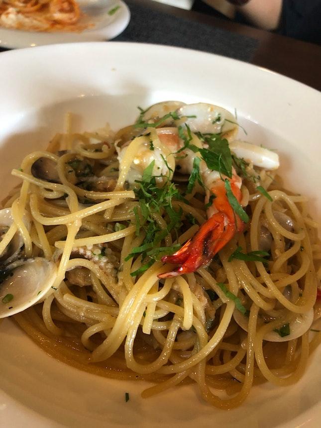 Aglio Olio Seafood