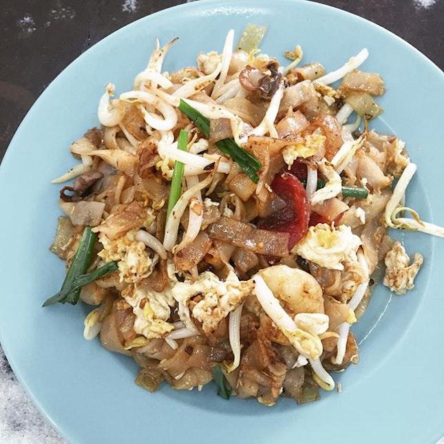 Luncheon: Steven's Fried Kuey Teow.