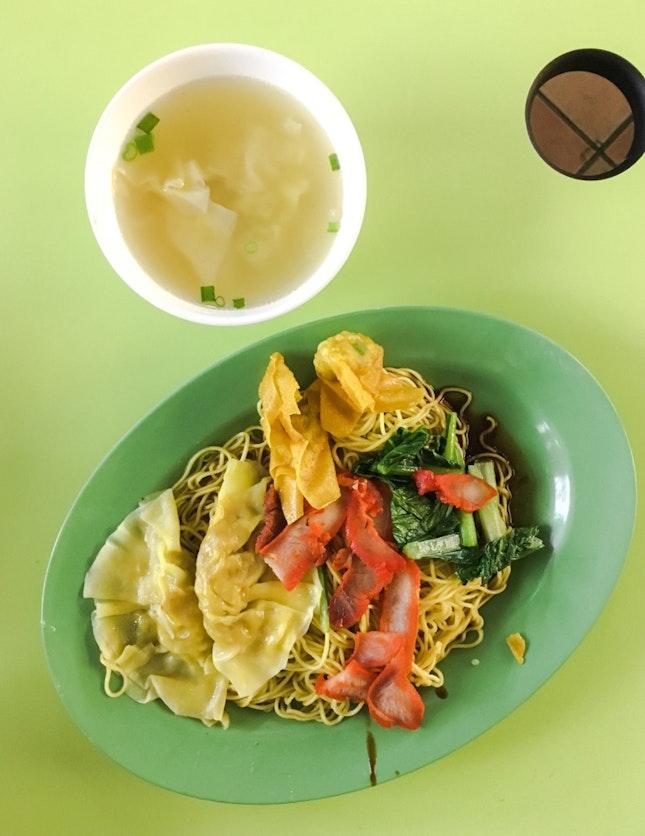 Wanton Dumpling Noodles