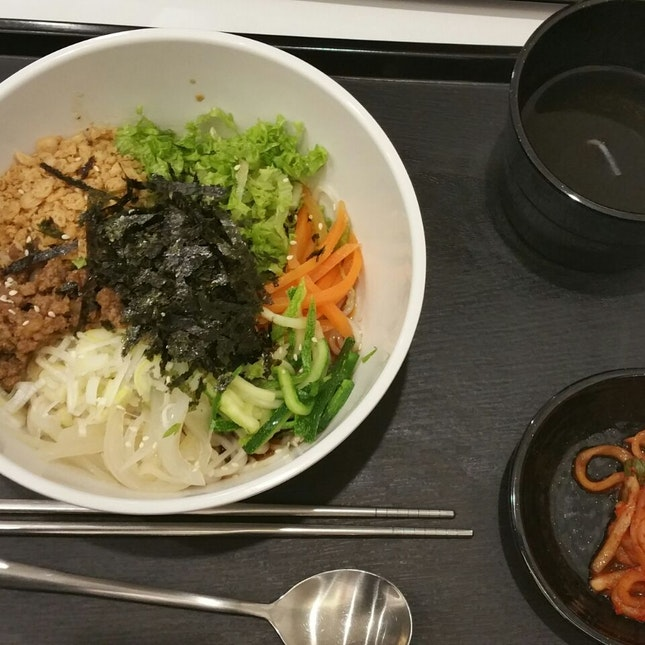 $7.90 noodles with soy sauce