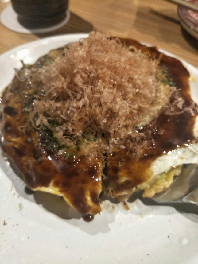 $22 Special Okonomiyaki