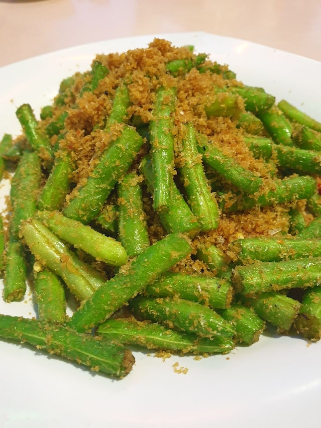 French Beans with 虾米