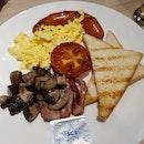 American Full Breakfast
