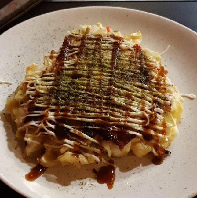 Pork Okonomiyaki ($12)