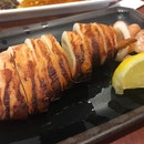 Japanese Grilled Squid (Ikayaki)