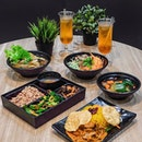Clean Eating with some meat-free asian meals at @greendotsg.