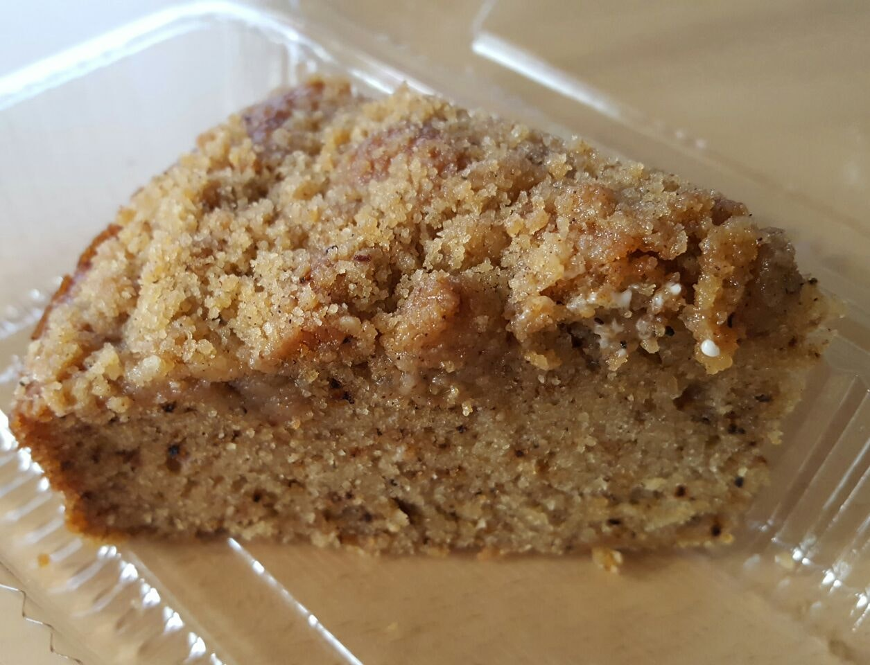 Chai Tea Latte Crumble Cake