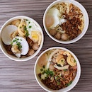 Our afternoon feast - ABALONE PAN MEE!