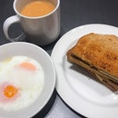 Happy weekend  周末愉快 😄 Kaya butter toast with eggs and teh si 😋 咖椰吐司,半熟蛋和奶茶 Your strength is a gift💪 your weakness is also a gift 🎁  2 Cor 12:9-10 ⠀⠀⠀⠀⠀⠀⠀⠀⠀ ⠀⠀⠀⠀⠀⠀⠀⠀⠀ ⠀⠀⠀⠀⠀⠀⠀ ⠀⠀⠀⠀⠀⠀⠀⠀⠀ ⠀⠀⠀⠀⠀⠀⠀⠀⠀⠀⠀ ⠀⠀⠀⠀⠀⠀⠀⠀⠀ ⠀⠀⠀⠀⠀⠀⠀ ⠀⠀⠀⠀⠀⠀⠀⠀⠀ ⠀⠀⠀⠀⠀⠀⠀⠀⠀ ⠀⠀⠀⠀⠀⠀⠀⠀⠀ ⠀⠀⠀⠀⠀⠀⠀ ⠀⠀⠀⠀⠀⠀⠀⠀⠀ #burpple #burpplesg #hungrygowhere #sgeats #ilovefood #igfood #instayum #whati8today #exploresingapore #eatoutsg #foodie #instafoodsg #openricesg #food52  #sgigfoodies #foodiesg #sgcafe #cafesg  #toast #eggs #Igfoodie #milktea #新加坡 #新加坡美食 #吃貨 #美食 #美味 #美味しい #相機食先 #夕食