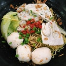 Fishball noodles from Fishball Story.