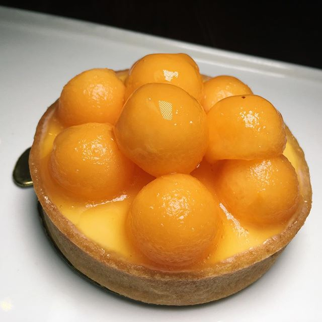 Cavaillon Melon (melon panna cotta with French melon) from Tarte by Cheryl Koh.