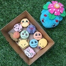 Delicately hand-crafted and hand-painted Pokémon mementos in a box...or Bonheur Patisserie's Pokemon character macarons (flavours include muscat, peach, melon, honey, orange, milk chocolate and raspberry) available at their PasarBella outlet?