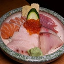 The Early Fatback: Chirashi from Manzoku (@manzoku_sg), situated along Purvis Street.