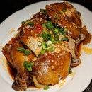Mala Roast Chicken from Silk Road, Amara Singapore (@amarasingapore).