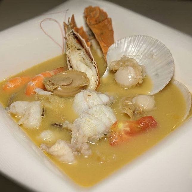 Premium Bowl from Yan Ji Gourmet Seafood Soup, newly-open at Funan Mall (@funansg).