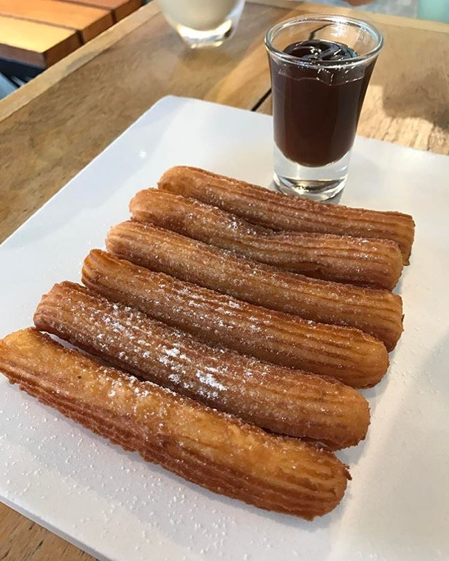 These churros from The Alley are amazing!