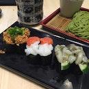 Sushi afternoon #sushi #jurong #westgate #sgfood #burpple #burpplesg #japanese