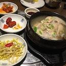 Korean Dinner at ARC.