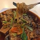 Braised Mee Sua $8.50  #healthyeating #cleaneat #vegetarian #below10 #burpple #burpplesg #bukitbatok
