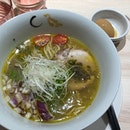 Finally a chance to try the Michelin star ramen at 麺House Yamamoto.