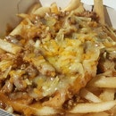 Cheesy beef fries for Friday!