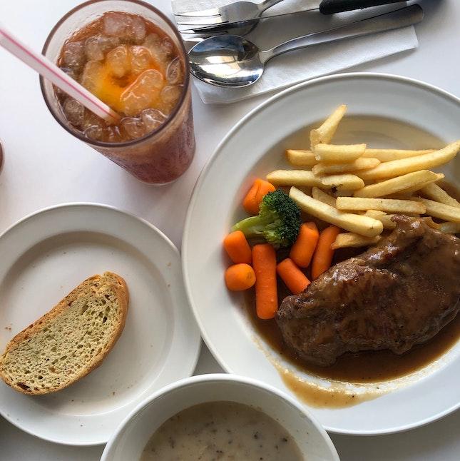 Oldie SG-styled Western Meal