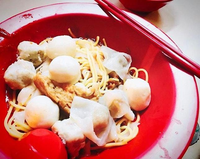 Songkee's fishball noodles is back at serangoon!
