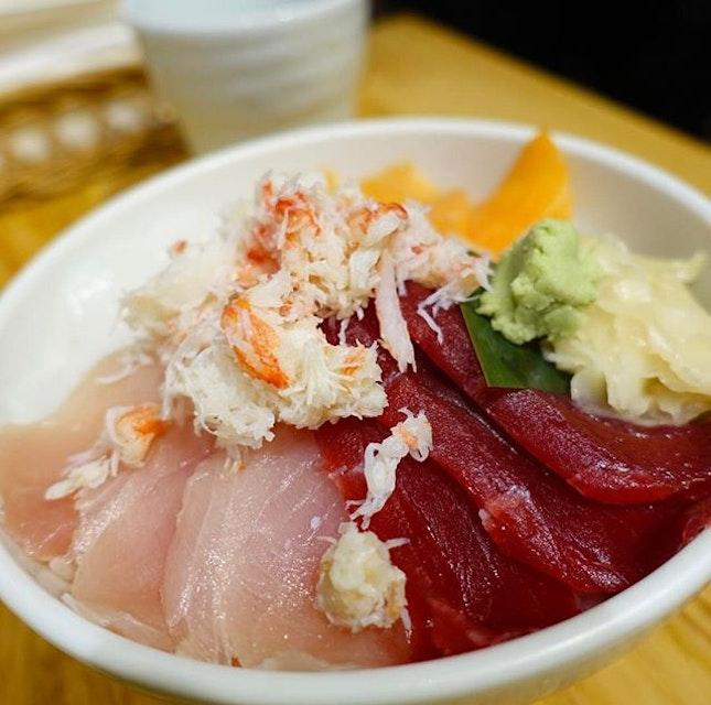 Sushi rice bowl.