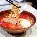 Amazeballs instant noodles in tomato soup